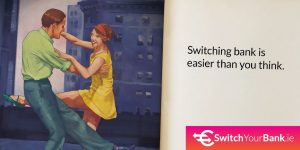 Switch your bank promotional ad