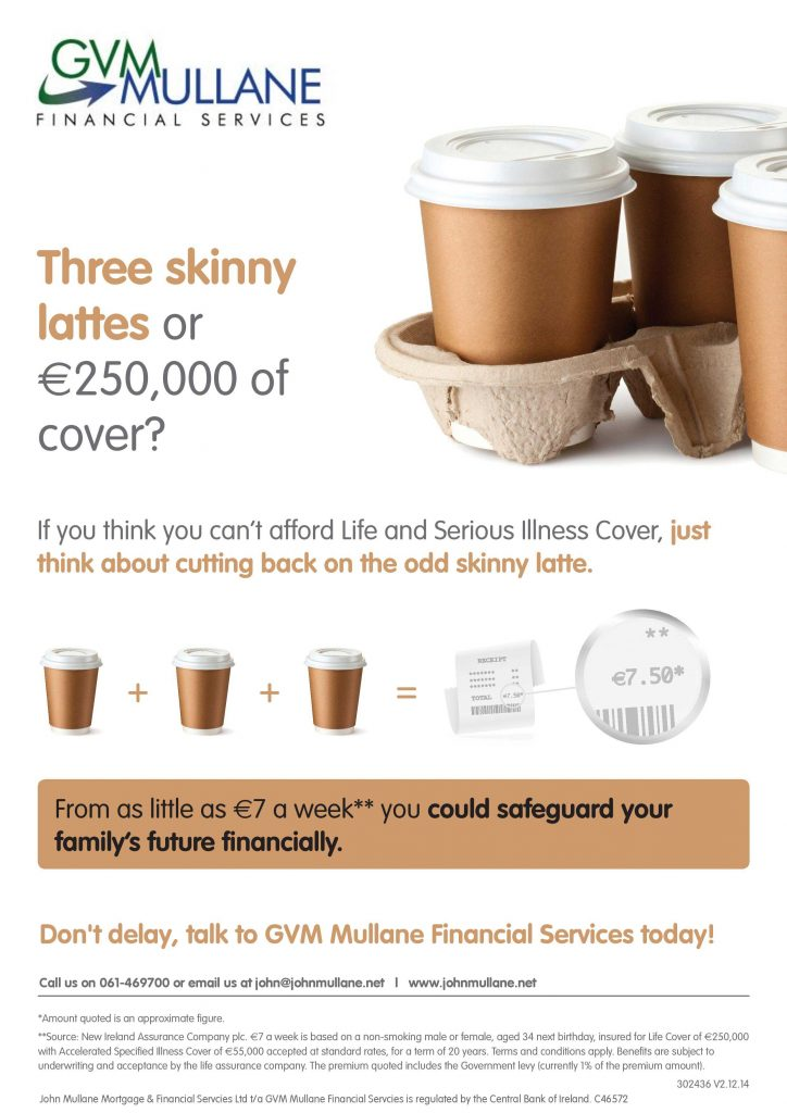 Cost of Protection v 3 Skinny Lattes